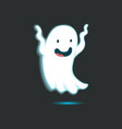 Cute Ghost Single 3 vector image vector image