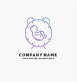 delivery time baby birth child purple business vector image