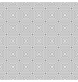 seamless pattern with black squares on a white vector image vector image