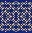 blue and yellow polka dot seamless pattern vector image vector image