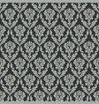 damask seamless pattern for design vintage vector image