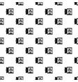 open food fridge pattern seamless vector image vector image