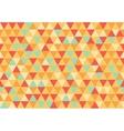 retro triangle pattern happy day
