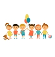 Children Cartoon characters vector image vector image