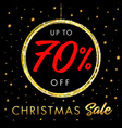 christmas sale up to 70 off star banner