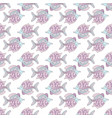 fish background underwater seamless pattern vector image vector image