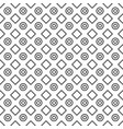 geometric black and white minimalistic pattern vector image vector image
