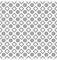 geometric black and white minimalistic pattern vector image