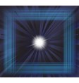 Star burst background vector image vector image