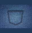 background wtih jeans texture vector image vector image