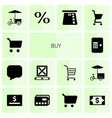 buy icons vector image vector image