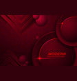 dark red texture background with marble effect vector image vector image