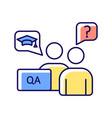 faculty advisor rgb color icon