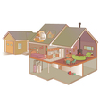 Indoor air quality vector image vector image