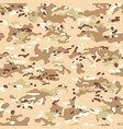 multicam camouflage seamless patterns vector image