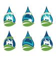 Recycling urban eco icon vector image