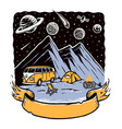 camping is my adventure vector image