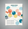 design of Magazine Cover vector image vector image