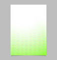 halftone dot pattern brochure background template vector image vector image