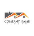 Home and Building Business Property Logo Template vector image vector image