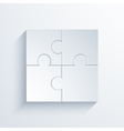 modern puzzle background vector image vector image
