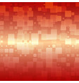 orange red beige glowing rounded tiles background vector image