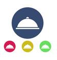 tray icon vector image