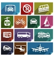 Transport flat icon-04 vector image