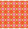 Circle and rhombus abstract seamless pattern vector image
