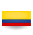 Colombian Flag vector image