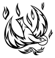 holy spirit ornate vector image vector image