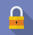 Icon of Padlock Modern trendy flat style vector image
