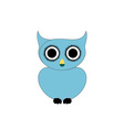 Owl- bird of prey vector image vector image