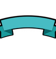 ribbon banner empty vector image