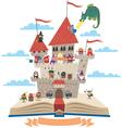Fairy Tale Book vector image