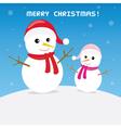 Christmas greeting card43 vector image vector image