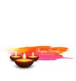 diwali ingia festival vector image vector image