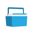 food container ice cooler vector image