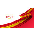 happy national day spain vector image vector image