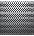 Metal Holes Plate Background Seamless vector image