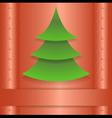 Christmas template vector image