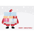 Christmas greeting card44 vector image vector image