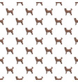 home dog pattern seamless vector image