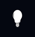 light bulb lamp theme vector image
