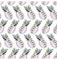 memphis tropical pineapple fruit pattern stripes vector image vector image