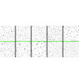 school pattern on green chalkboard background vector image vector image