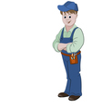 The workman or handyman vector image vector image