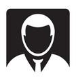 user icon male person symbol profile avatar sign vector image