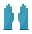 Gloves cartoon isolated on vector image