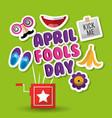 april fools day prank box mask water flower